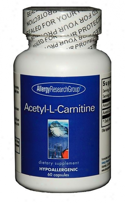 Arg's Acetyl-l-carnitine 250mg 60 Vcaps
