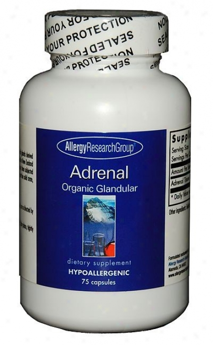 Arg'w Adrenal 300mg 75 Vcaps