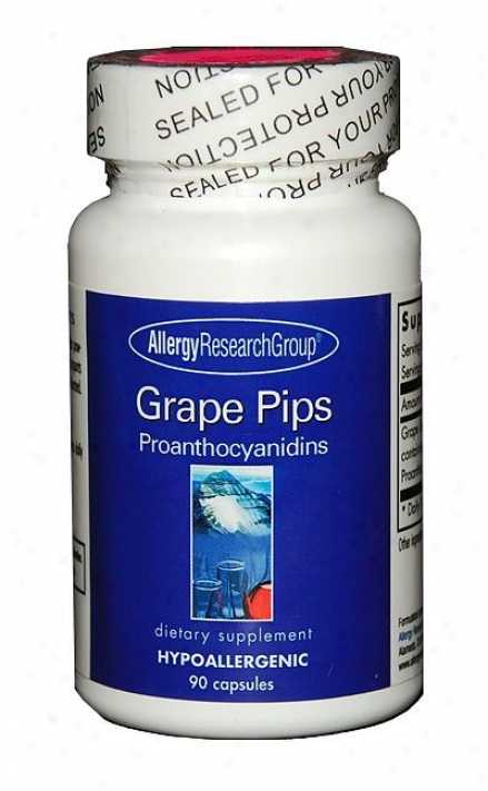 Arg's Grape Pips Proanthocyanidins 100mg 90 Caps