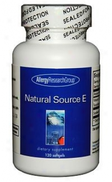 Arg's Natural Source E  120sg
