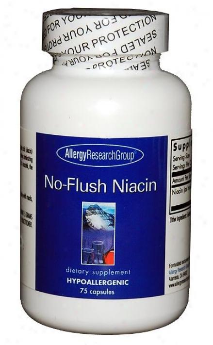 Arf's No Flush Niacin 430mg 75 Caps