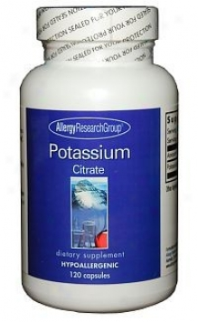 Arg's Potassium Citrate 99mg 120 Caps