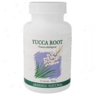 Arizona Natural's Ycca Root (yucca Schidigera) 500mg 90caps