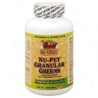Ark Natural's Nu Pet Granular Greens Pet Supplement 8oz