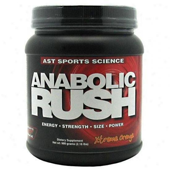 Ast Sport's Anabolic Rush Xtreme Orange 2.16lb