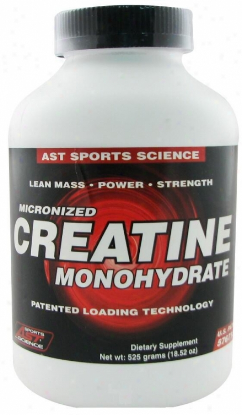 Ast Sport's Creatine Monohydrate Powder 525gm