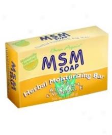 At Last Naturals Born Afresh Msm Herbal Bar 3oz