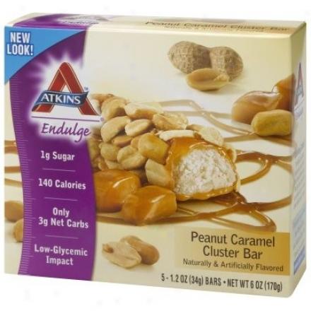 Atkins Endulge Bar Peanut Caramel Cluster 5/bx