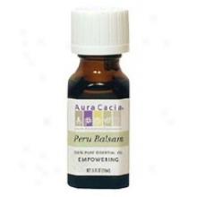 Aura Cacia's Essent Oil Balsam Peru 0.5oz