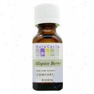Aura Cacia's Essential Oil Allspice Berry .5oz