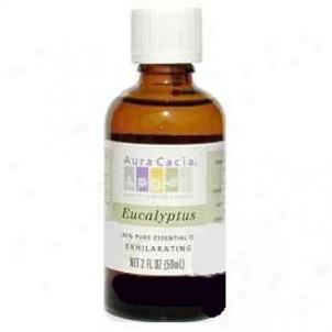 Aura Cacia's Essential Oil Eucalyptus 2oz
