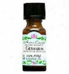 Aura Cacia's Essential Oil Geranium Bourbon .5oz