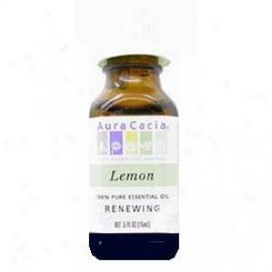Aura Cacia's Essential Oil Lemon .5oz