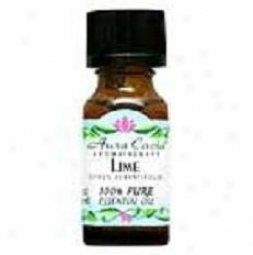 Aura Cacia's Essential Oil Lime .5oz