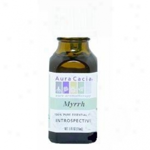 Aura Cacia's Essential Oil Myrrh .5oz