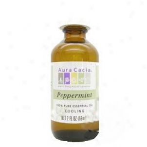 Effluence Cacia's Essential Oil Peppermint 2oz
