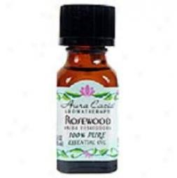 Aura Cacia's Essential Oil Rosewood .5oz