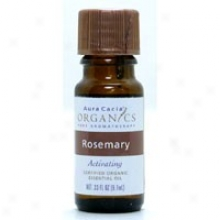 Aura Cacia's Organics Essent Oil Og Rosemary 0.33oz