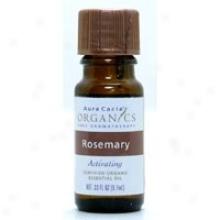 Aura Cacia's Organics Essent Oil Og Rosemary 0.33oz