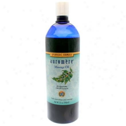 Auromere's Ayurvedic Massage Oil 32 Fl Oz