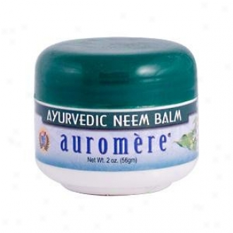 Auromere's Ayurvedic Neem Balm 2oz