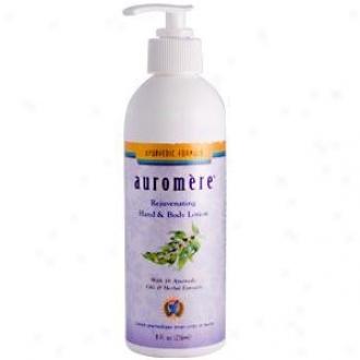 Auromere's Lotion Hand & Body 8 Fl Oz