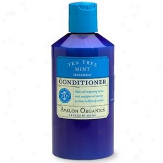 Avalon Organic's Conditioner Tea Tree Mint Treatent 14 Fl Oz