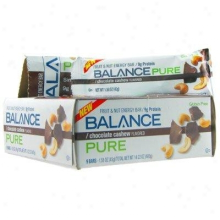 Balance Bar's Modest Chocolate Cashew 1.58oz/9bars