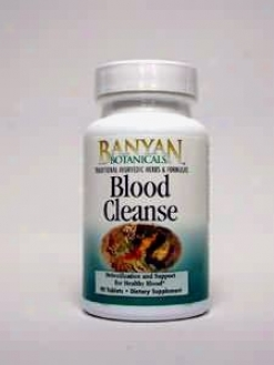 Banyan Trading Co's Blood Cleanse 500 Mg 90 Tabs