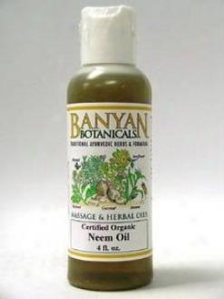 Banyan Trading Co's Neem Oil (certified Organic) 4 Oz