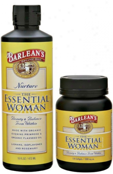 Barlean Essential Woman Oil 12oz