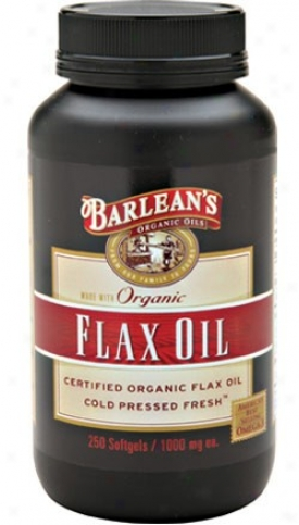 Barlean Flax Oil 1000mg 100caps