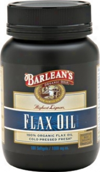 Barlean Lignan Flax Oil 1000mg 100caps