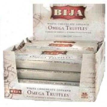 Bija's Omega Truffles Dark Chocolaet 12bars