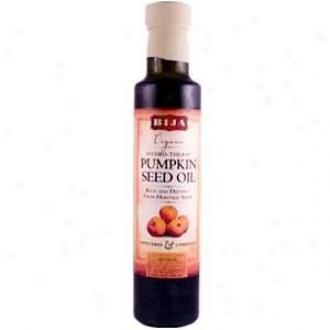 Bija's Orgsnic Hydro-therm Pumpkin Seed Oil 8.5 Fl Oz