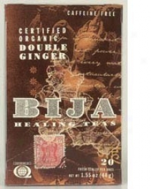 Bija's Tea Double Ginger 20tbags