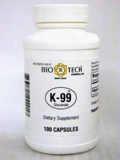 Bio-tech's K-99 Poassium Gluconaye 100 Caps