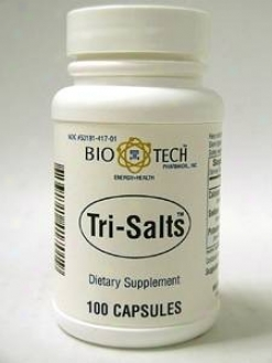 Bio-tech's Tri-salts 100 Caps