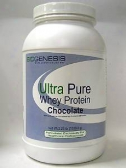 Biogenesis Nutraceutical's  Ultra Pure Whey Protein - Chocolate 2 Lb