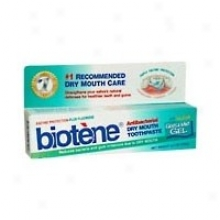 Biotene Dental Products Antibacterial Dry Mouth Toothpaste Gentlemint Gel 4.5 Oz
