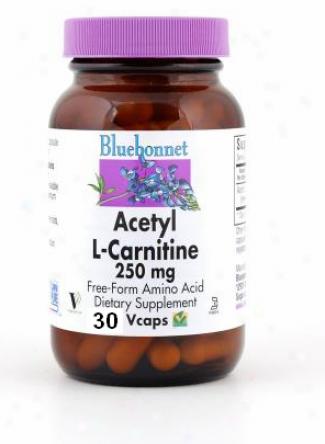 Bluebonnet's Acetyl L-carnitine 250 Mg 30vcaps