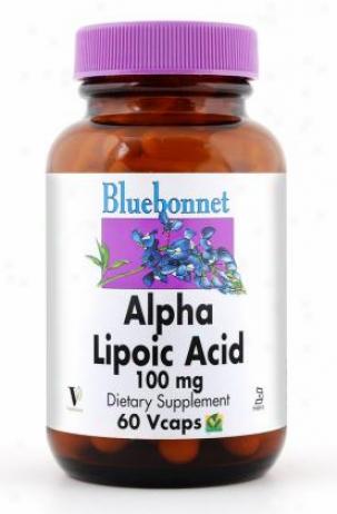 Blluebonnet's Alpha Lipoic Acid 100mg 60vcaps