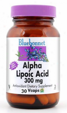 Bluebonnet's Alpha Lipoic Acid 300mg 30vcaps