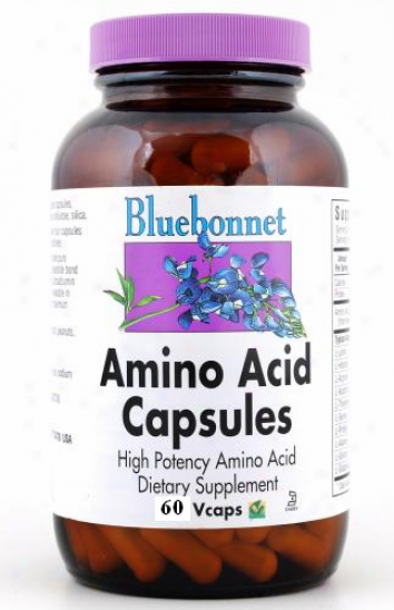 Bluebonnet's Amino Acid 750 Mg 60vcaps