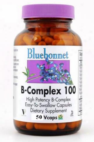 Bluebonnet's B-complex 100mg 50vcaps