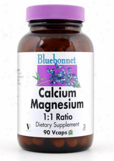 Bluebonnet's Calcium Mag  1:1 90vcaps
