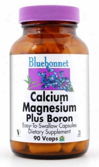 Bluebonnet's Calcium Mag. W/ Boron 90caps