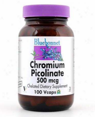 Bluebonnet's Chromium Piconate 500mcg 100vcaps