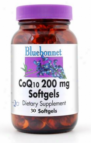 Bluebonnet's Coq10 200 Mg 30sg