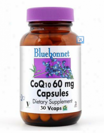 Bluebonnet's Coq10 60 Mg 30vcsps